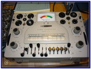 Heathkit IT-17 Tube Tester
