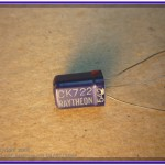 The Beautiful Blue Raytheon CK722 Transistor.